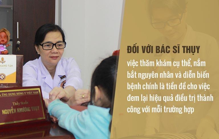 Với bác sĩ Thụy, điều trị bệnh phụ khoa cần phải xác định đúng căn nguyên