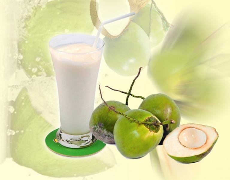 bị đau bao tử nên uống nước dừa như thế nào