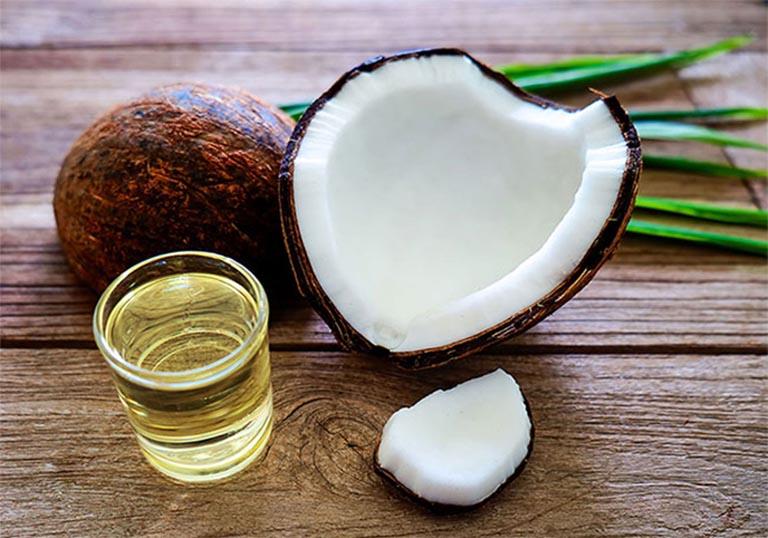 cách chữa viêm xoang bằng dầu dừa