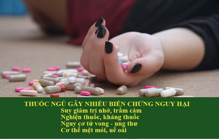 Thuốc ngủ có thế gây nhờn thuốc và nhiều hệ lụy