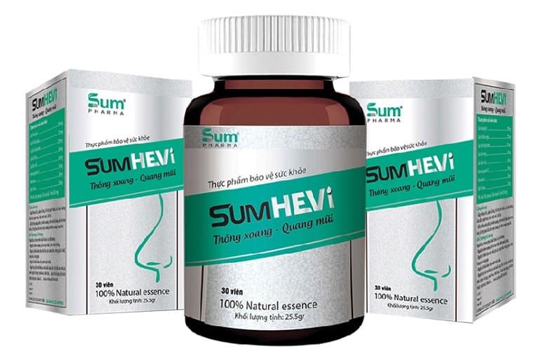 Thực phẩm chức năng trị viêm xoang Sumhevi
