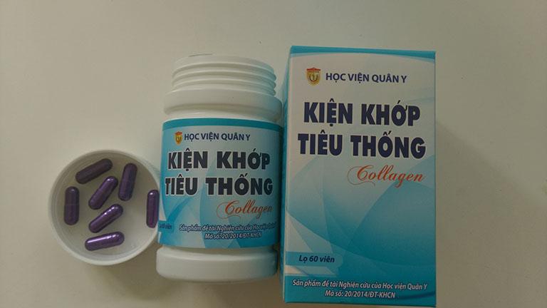 thuốc bổ cho người thoát vị đĩa đệm Kiện Khớp Tiêu Thống Collagen