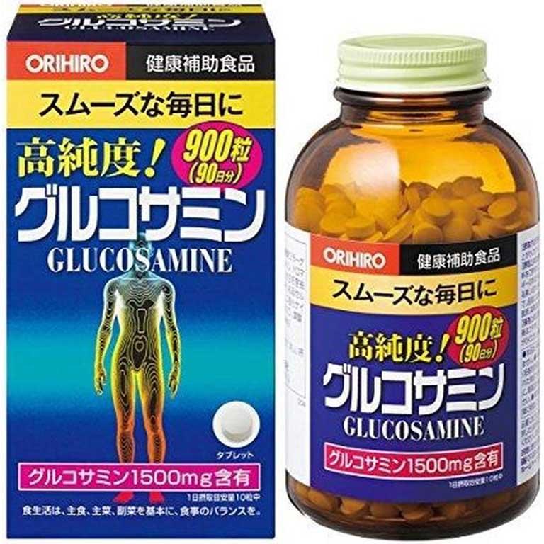 thuốc bổ cho người thoát vị đĩa đệm Glucosamine Orihiro
