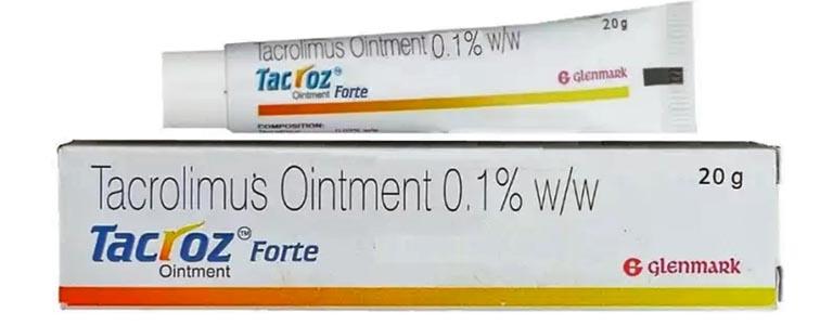 Thuốc trị viêm da tiếp xúc Tacrolimus