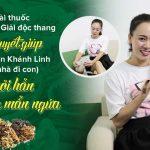 Diễn viên Khánh Linh Về nhà đi con chia sẻ cách chữa khỏi mề đay