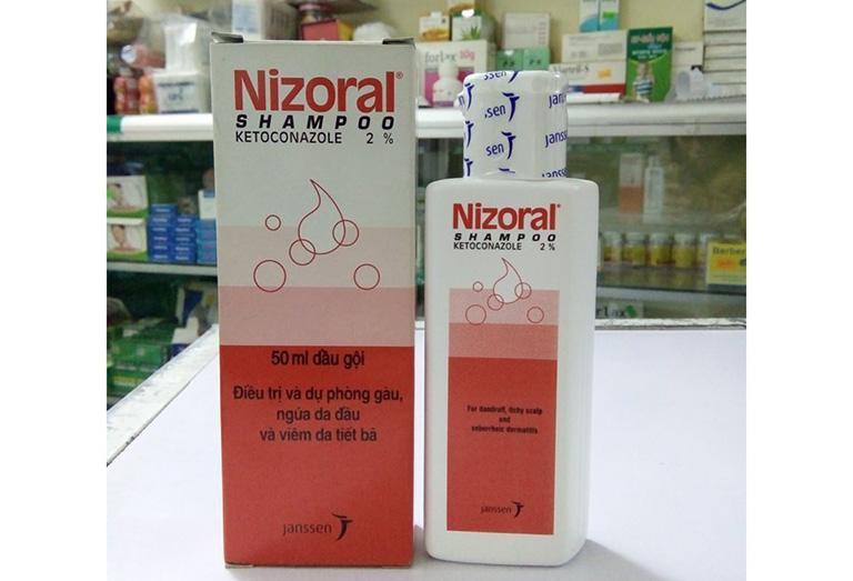 dầu gội trị nấm da đầu Nizoral