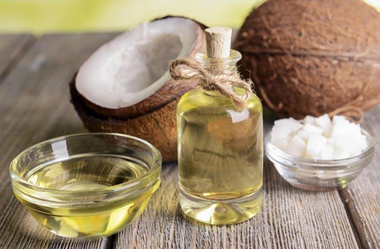 cách điều trị nấm candida bằng dầu dừa
