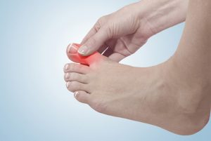 ngón chân cái bị sưng đau