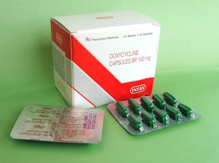 Phác đồ điều trị chlamydia mãn tính bằng thuốc Doxycycline 100mg