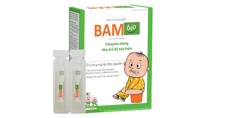 Babbio - sản phẩm trị táo bón cho trẻ