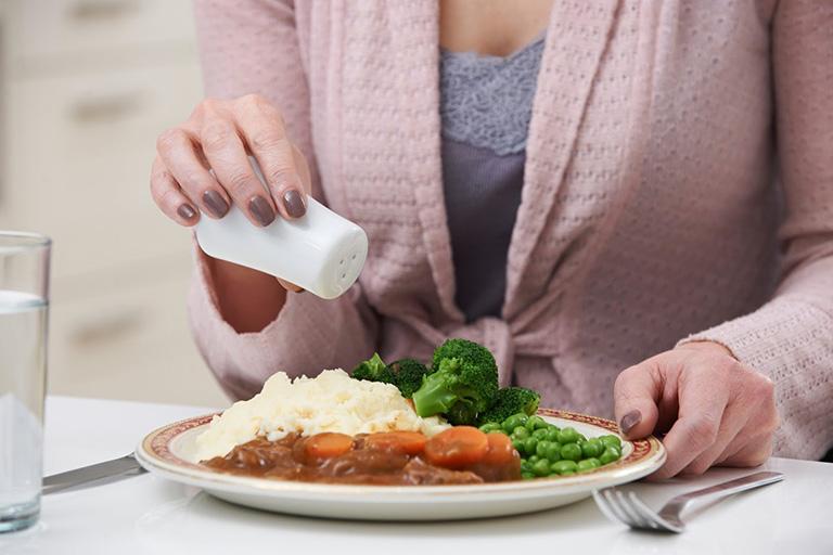 tác hại của việc ăn mặn