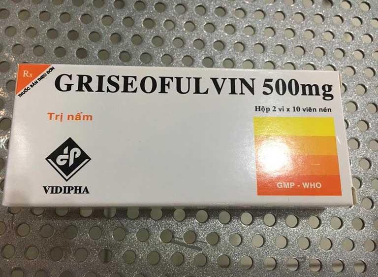 Thuốc uống trị bệnh tổ đỉa Griseofulvin