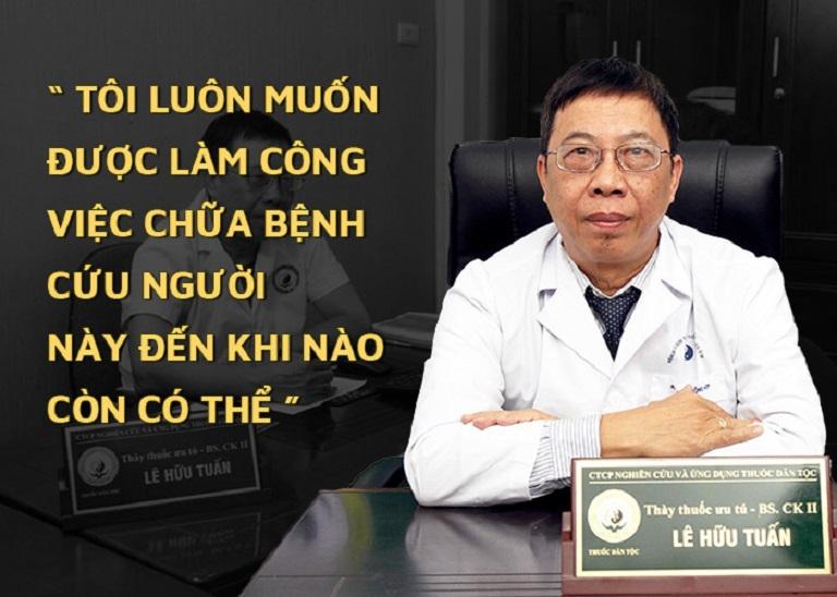 """Bác sĩ Lê Hữu Tuấn - người thầy thuốc lừng danh """"tiếp lửa"""" cho y học cổ truyền"""