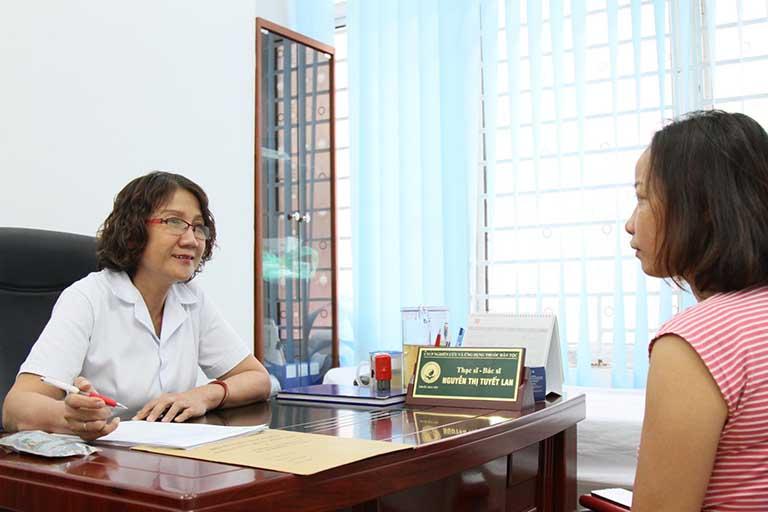 Ths,Bs Nguyễn Thị Tuyết Lan luôn nhiệt tình và dành hết tâm huyết cho bệnh nhân
