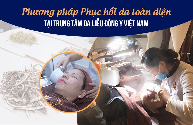 Trung tâm Da liễu Dông y Việt Nam thực hiện giải pháp phục hồi da nhiễm Corticoid linh động, hiệu quả toàn diện