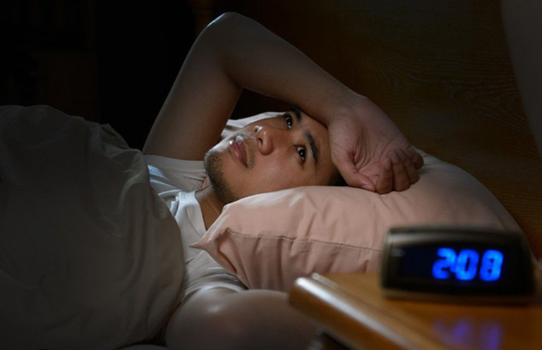 mất ngủ 1 đêm