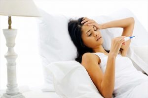 sốt nhẹ có phải dấu hiệu mang thai