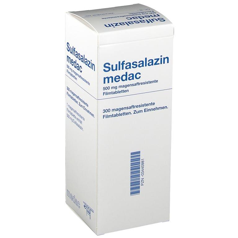 Thuốc điều trị viêm khớp dạng thấp Sulfasalazin