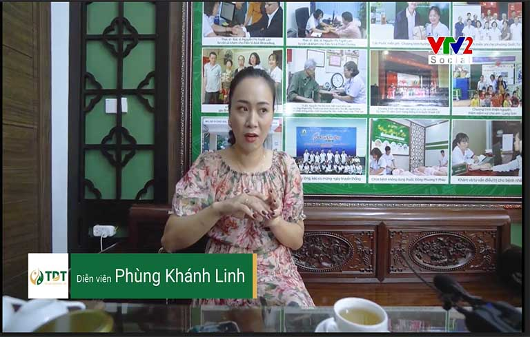 Diễn viên Phừng Khánh Linh chia sẻ về hiệu quả bài thuốc