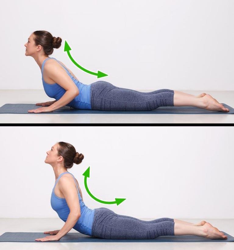 bài tập thể dục chữa đau lưng tư thế tấm ván