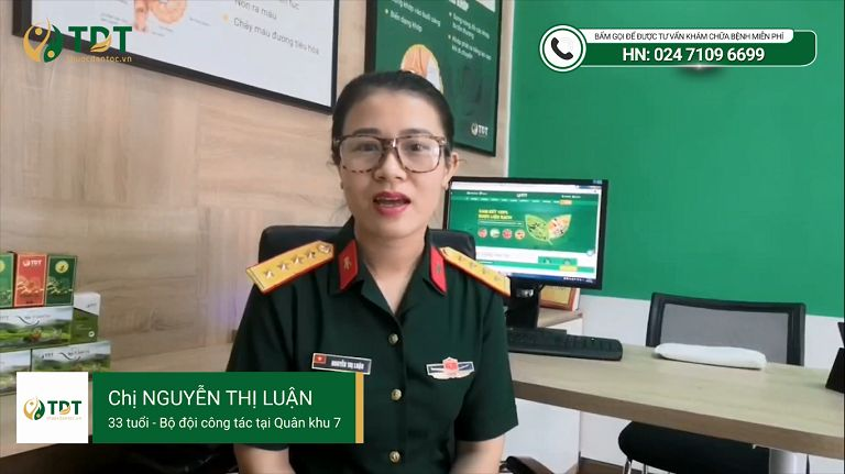 Chị Nguyễn Thị Luận chia sẻ về Sơ can Bình vị tán