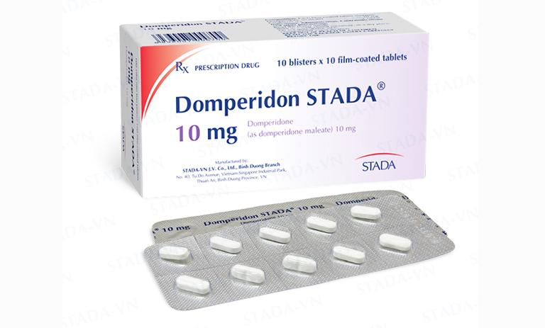 Thuốc Domperidon trị rối loạn tiêu hóa