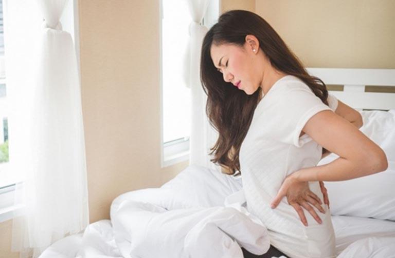 cách giảm Đau lưng khi có kinh