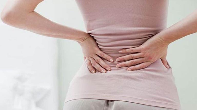 Đau lưng khi có kinh