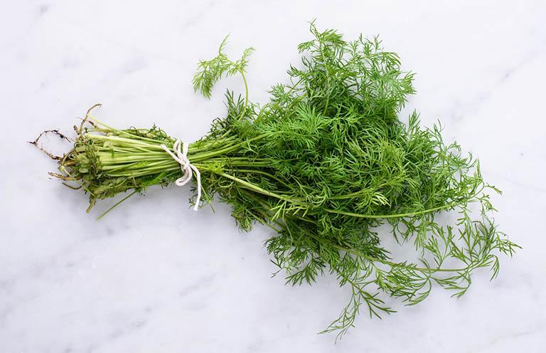 Loạn khuẩn đường ruột nên ăn rau thì là