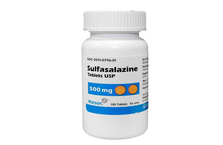 Thuốc Sulfasalazine chữa viêm đại tràng