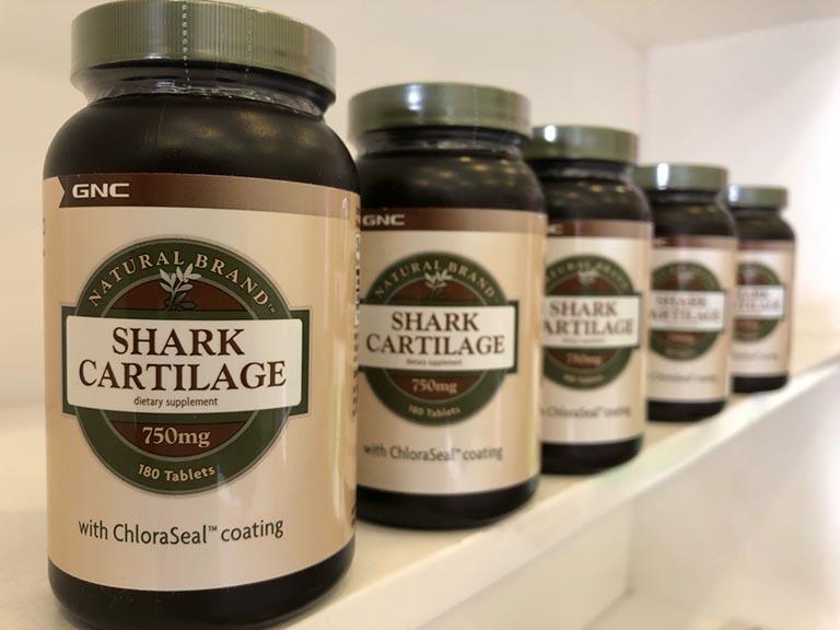thuốc trị đau lưng của Mỹ GNC Shark Cartilage