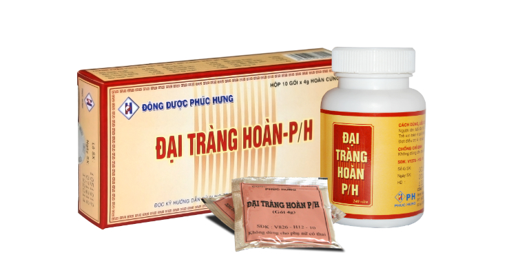 thuốc Đại Tràng Hoàn PH chữa viêm đại tràng