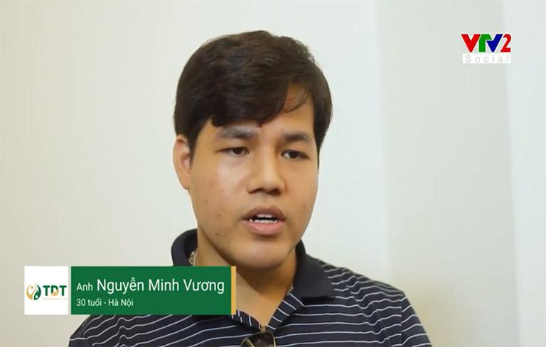 Anh Minh Vương chia sẻ hiệu quả bài thuốc Tiêu ban Giải độc thang trên VTV2