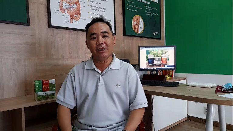 BN Lê Hưng Quốc KHỎI BỆNH viêm dạ dày, trào ngược dạ dày 90% SAU 2 THÁNG uống Sơ can Bình vị tán