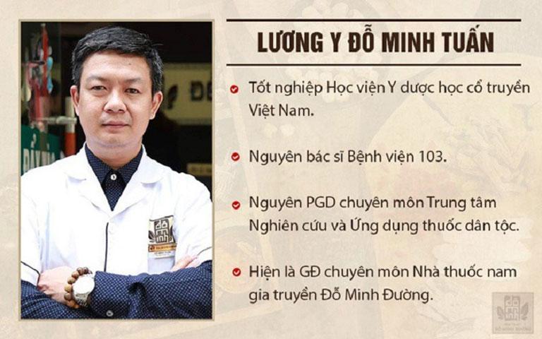 Lương y Đỗ Minh Tuấn - GĐ chuyên môn nhà thuốc nam Đỗ Minh Đường - Doanh nhân trí thức tiêu biểu năm 2020
