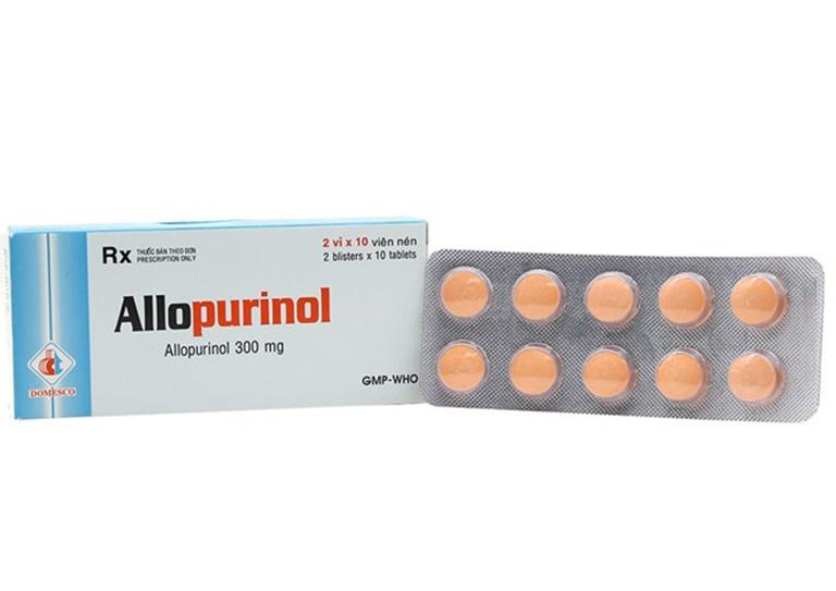 liều dùng thuốc allopurinol