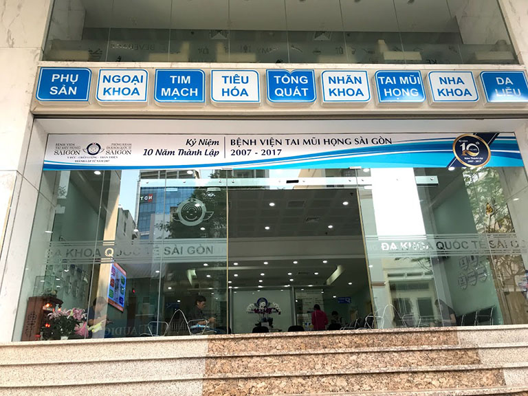 khám viêm tuyến nước bọt ở bệnh viện Tai Mũi Họng Sài Gòn