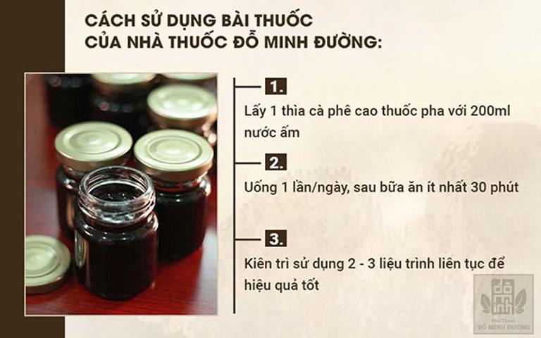 Cách dùng bài thuốc viêm họng, viêm amidan Đỗ Minh Đường