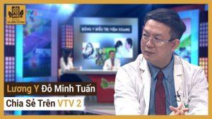 Lương y Đỗ Minh Tuấn tư vấn trên VTV2