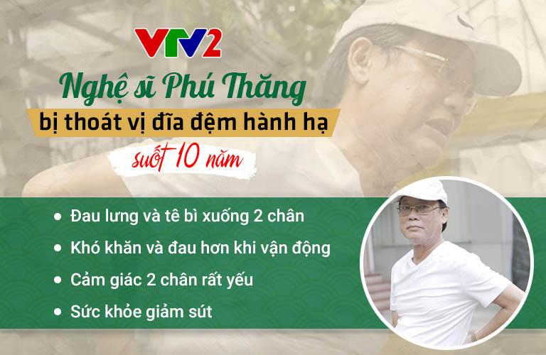 Nghệ sĩ Phú Thăng từng bị thoát vị đĩa đệm hành hạ suốt 10 năm đã khỏi bệnh nhờ trị liệu Đông y