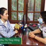 Chị Chu Thị Thúy Hồng chia sẻ về hiệu quả điều trị mề đay