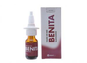 thuốc xịt mũi Benita