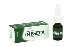 Thuốc xịt mũi Meseca có tác dụng gì? Cách dùng, giá bán