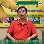 Anh Trần Ngọc Tâm chia sẻ về quá trình điều trị căn bệnh viêm cột sống dính khớp