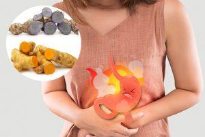chữa đau dạ dày bằng nghệ đen hay nghệ vàng