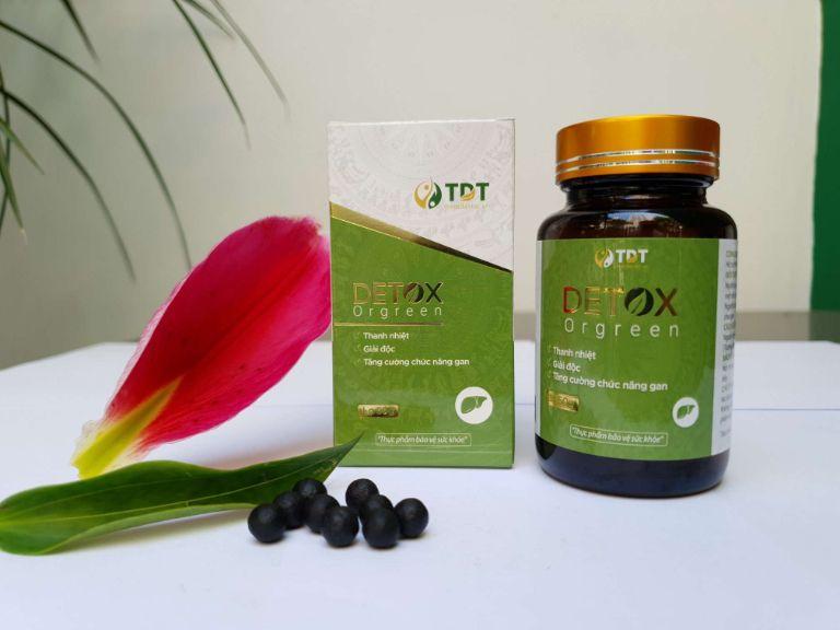 Detox Orgreen Giải độc và Thải độc gan hiệu quả
