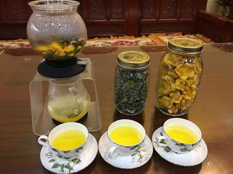 Cách pha trà đúng tiêu chuẩn sẽ đảm bảo được dược tính của trà hoa vàng