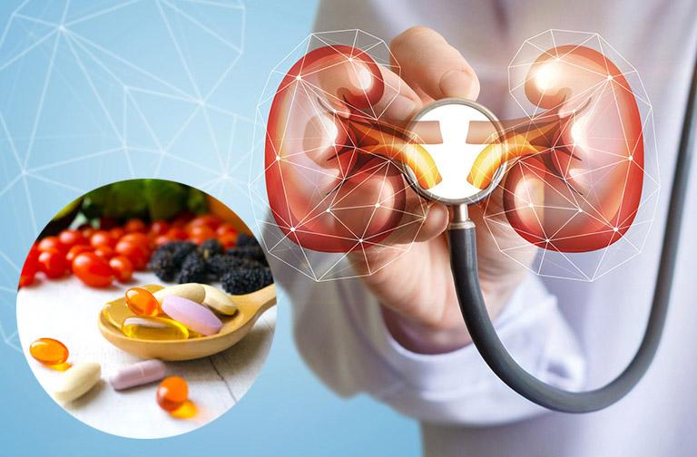 uống thực phẩm chức năng có hại thận không
