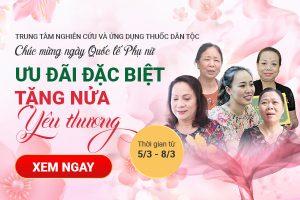 Ưu đãi mừng ngày Quốc tế Phụ nữ 8-3