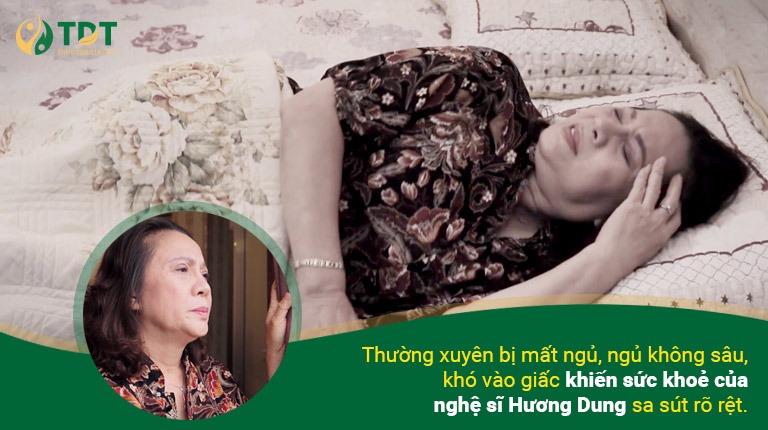 NS Hương Dung căn bệnh mất ngủ kinh niên 7 năm